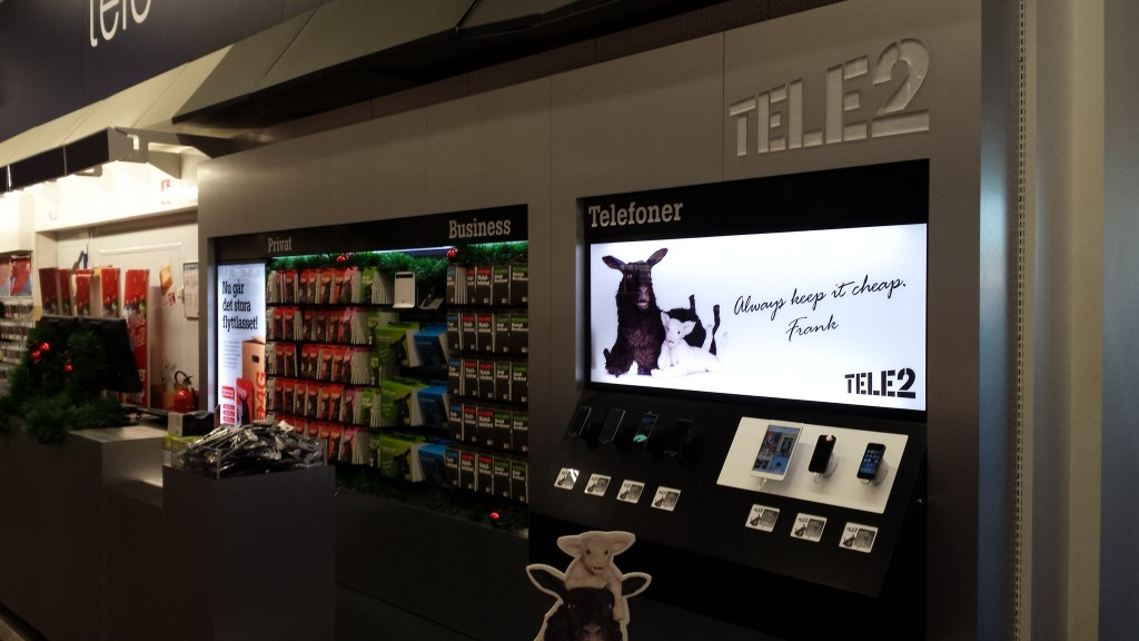 Tele2 Shop in Shop