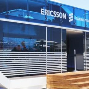 Volvo ocean Race, Ericsson racing team:s paviljong i CapeTown.