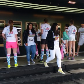 BXP aktiverar Huawei under Color run i Malmö