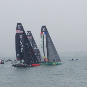 SITEINSPECTION LOUIS VUITTON AMERICA´S CUP PORTSMOUTH
