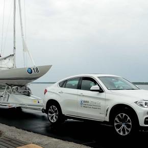 BMW global sponsor av EM i Draksegling Båstad